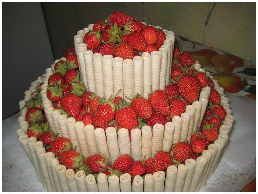 многоярусные торты рецепты фото